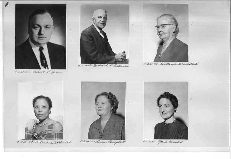 Mission Photograph Album - Portraits #10 Page 0118