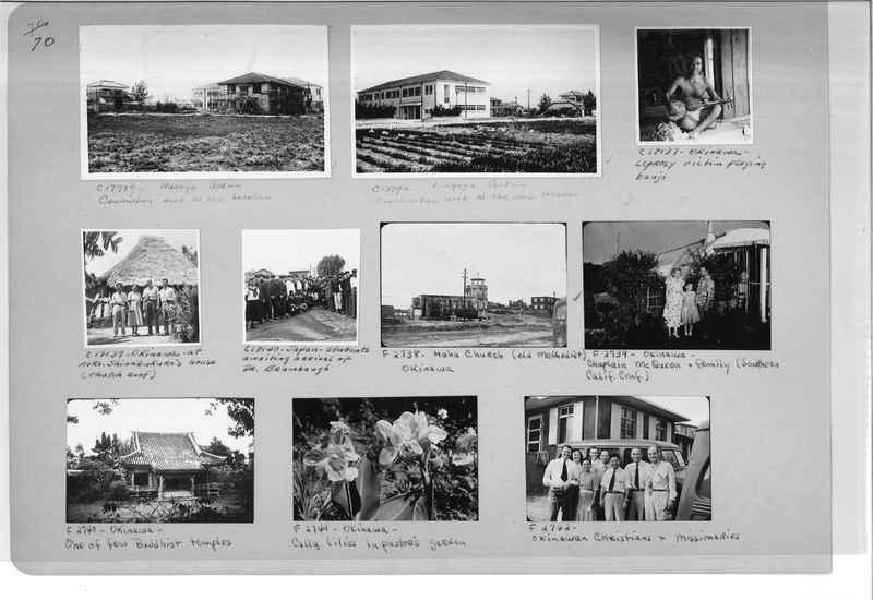 Mission Photograph Album - Japan #07 Page 0070