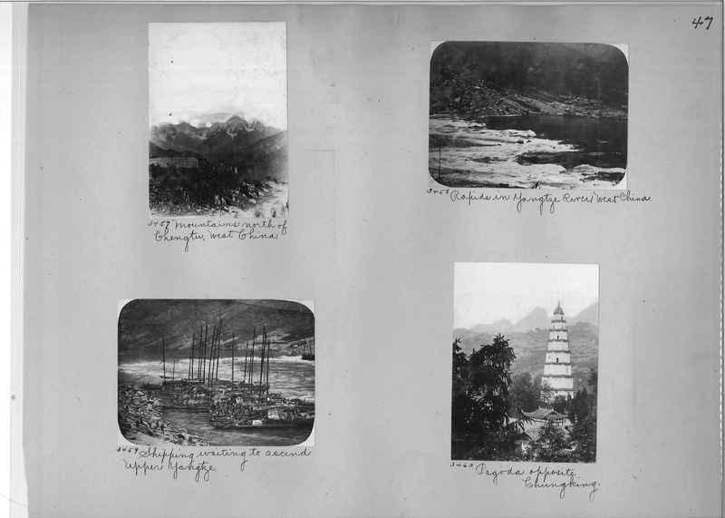 Mission Photograph Album - China #2 page  0047