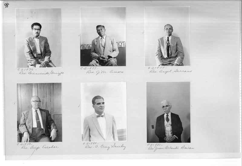 Mission Photograph Album - Portraits #10 Page 0098