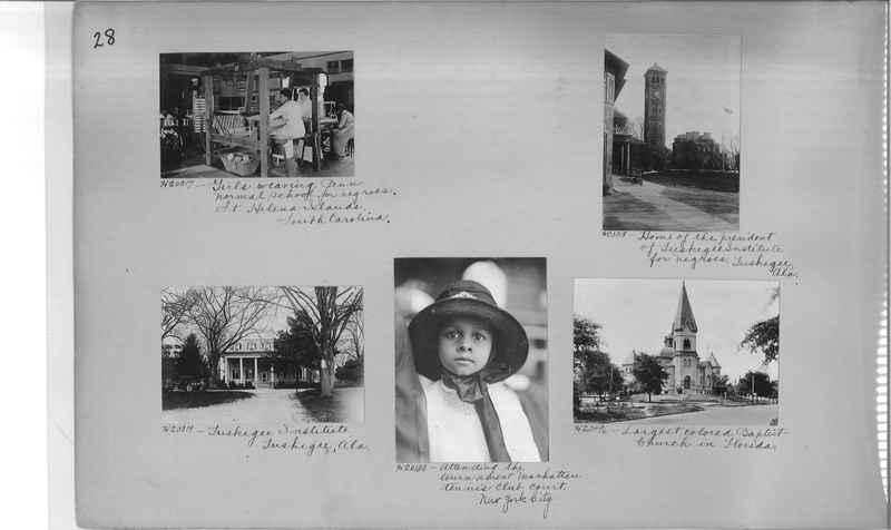 Mission Photograph Album - Negro #3 page 0028