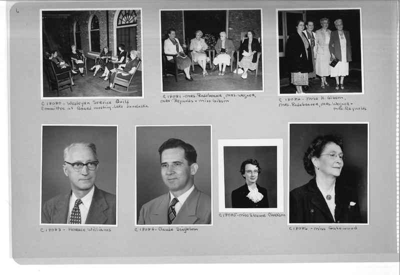 Mission Photograph Album - Portraits #08 Page 0006