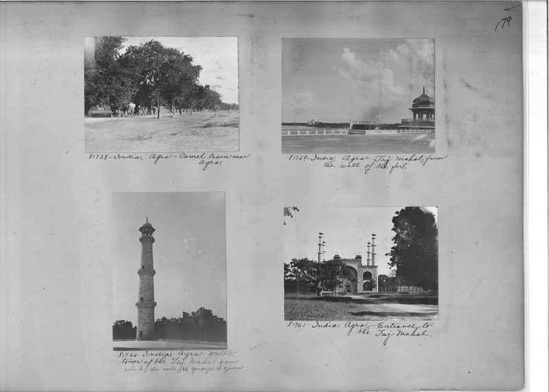 Mission Photograph Album - India #09 Page 0179