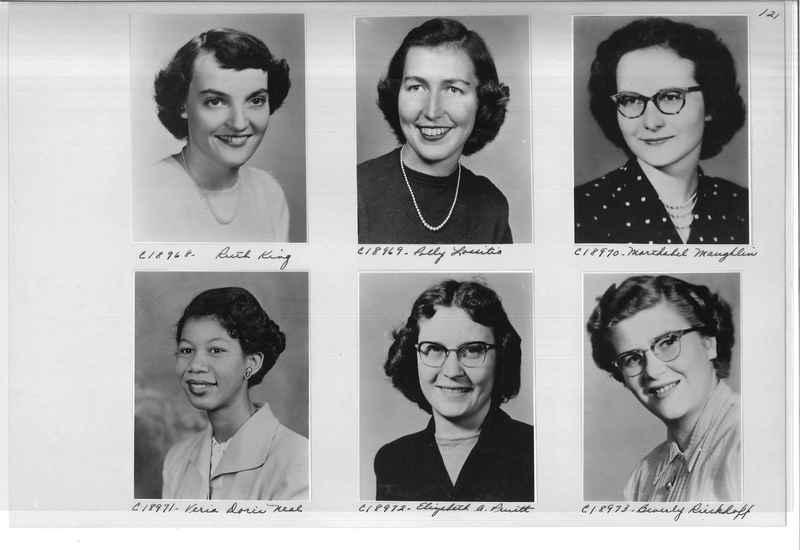 Mission Photograph Album - Portraits #08 Page 0121