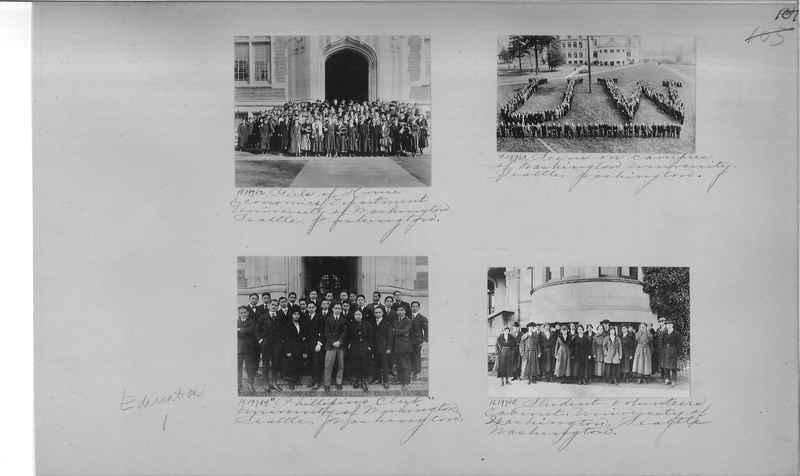 Mission Photograph Album - Education #1 page 0107