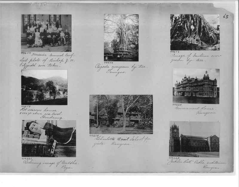 Mission Photograph Album - Burma #1 page 0063