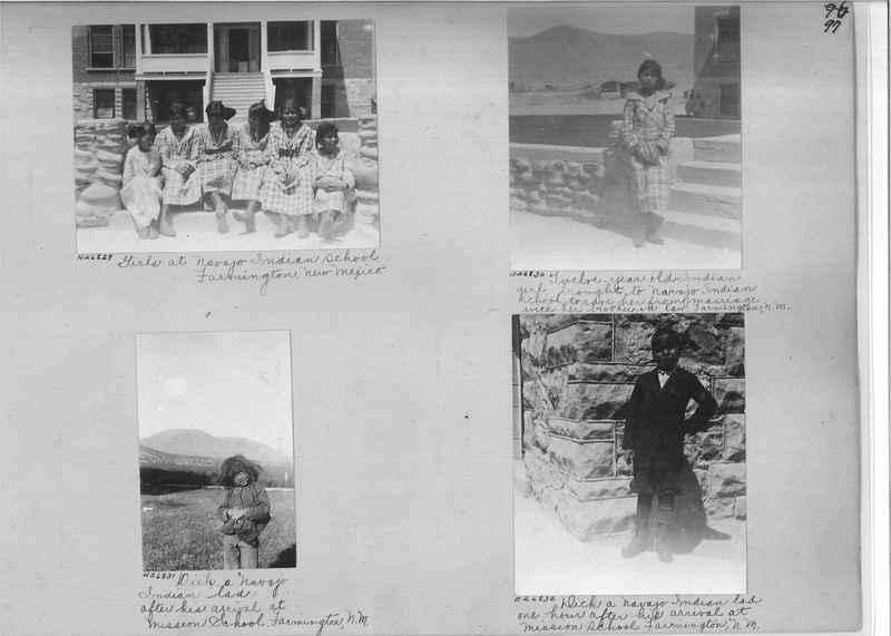 Mission Photograph Album - Indians #2 page_0097