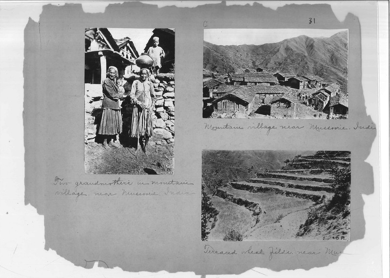 Mission Photograph Album - India - O.P. #02 Page 0031