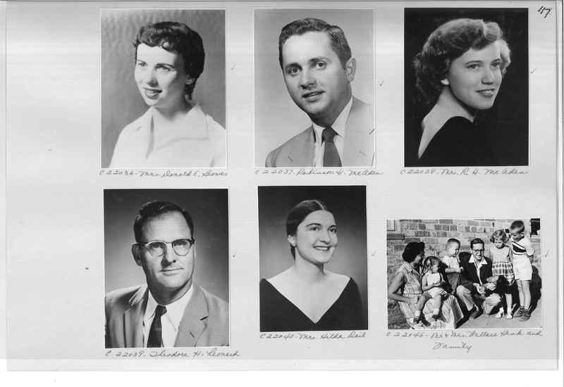 Mission Photograph Album - Portraits #10 Page 0117