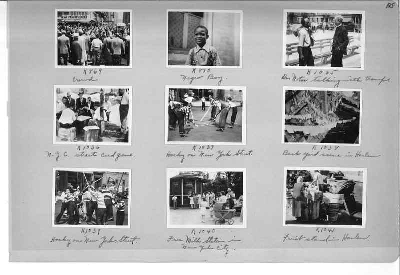 Mission Photograph Album - Cities #18 page 0185