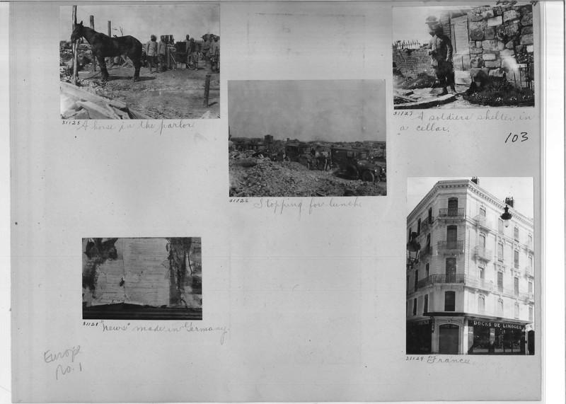 Mission Photograph Album - Europe #01 Page 0099