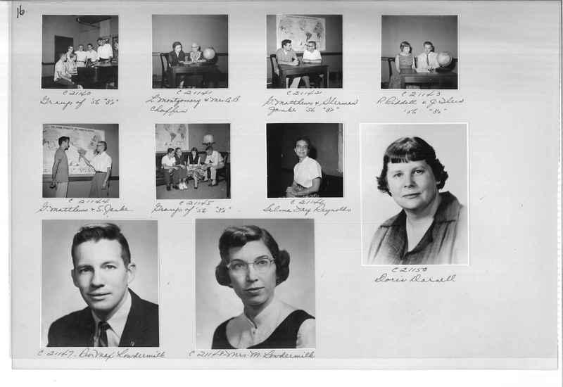 Mission Photograph Album - Portraits #10 Page 0016