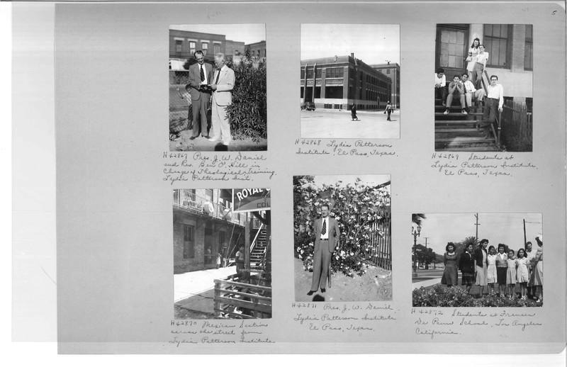 Mission Photograph Album - Latin America #3 page 0005