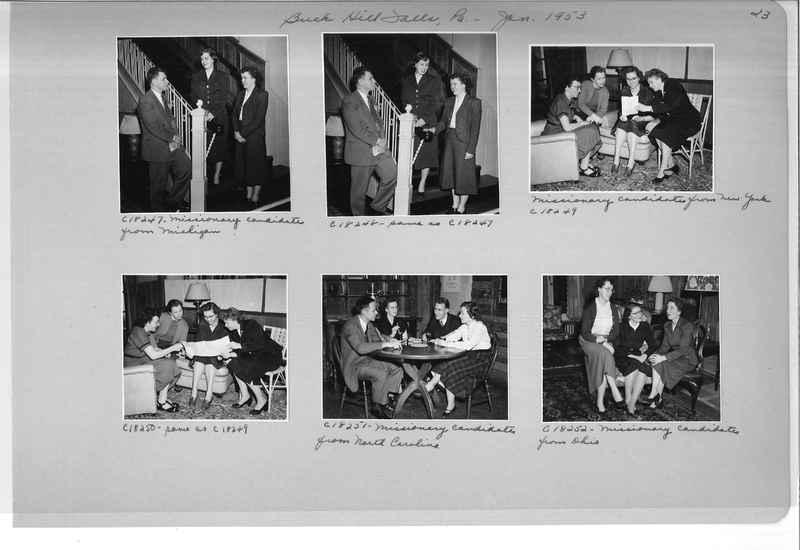 Mission Photograph Album - Portraits #08 Page 0023