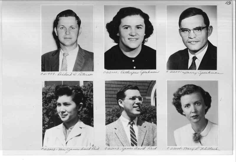 Mission Photograph Album - Portraits #10 Page 0113