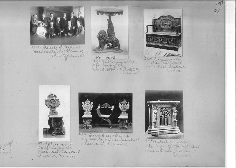 Mission Photograph Album - Europe #01 Page 0041