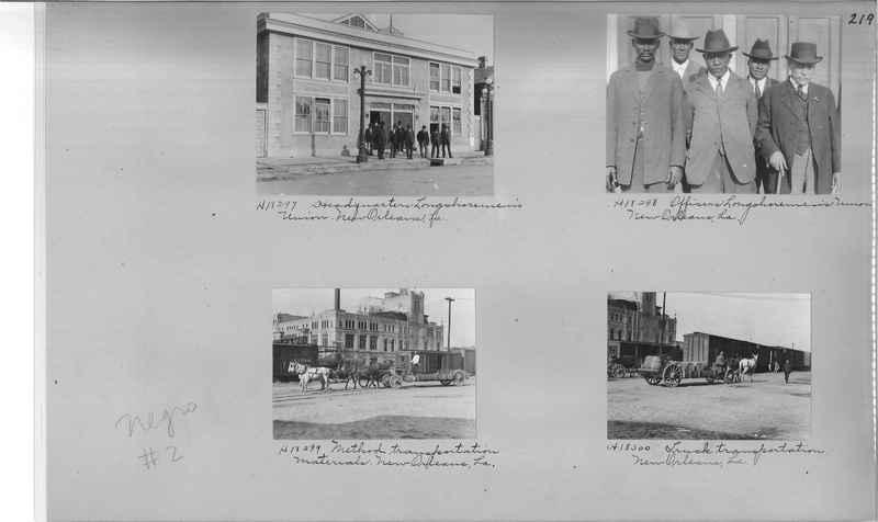 Mission Photograph Album - Negro #2 page 0219