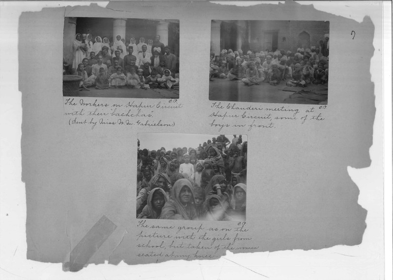 Mission Photograph Album - India - O.P. #02 Page 0007