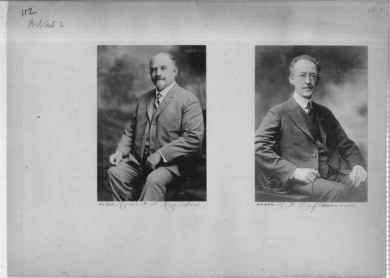 Mission Photograph Album - Portraits #2 page 0112