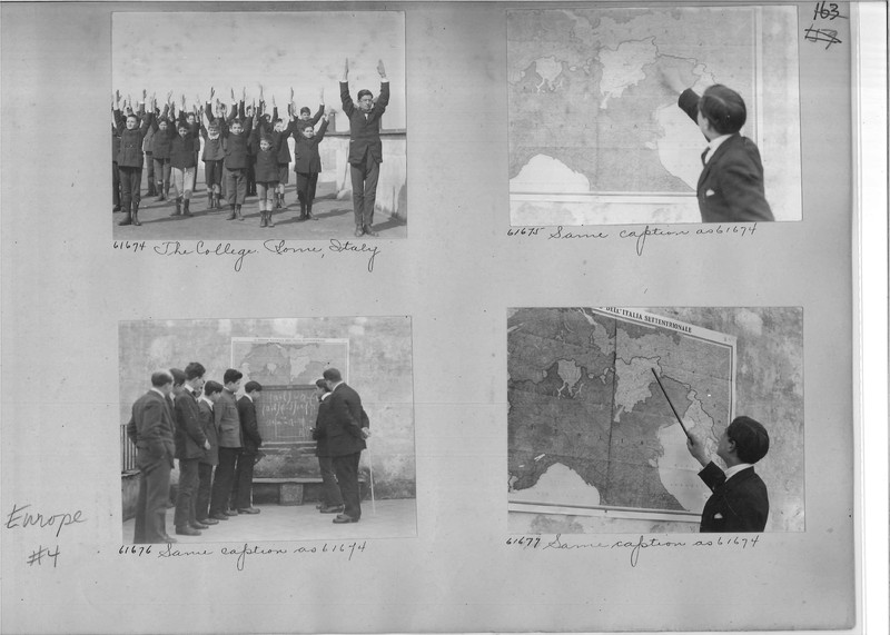 Mission Photograph Album - Europe #04 Page 0163