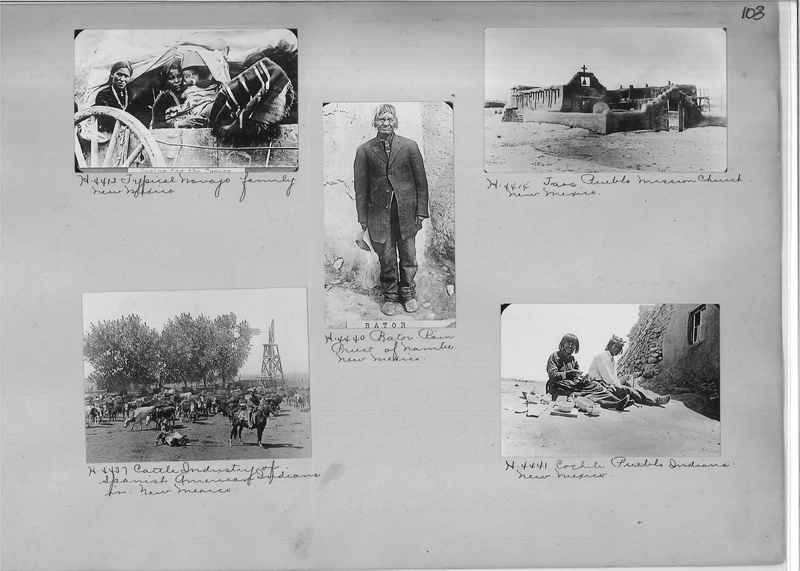 Mission Photograph Albums - Indians #1 page 0103