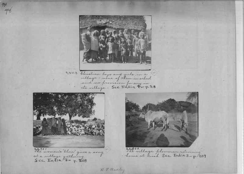 Mission Photograph Album - India - O.P. #01 Page 0074