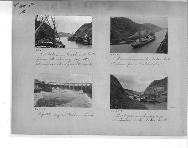 Mission Photograph Album - Panama #1 page  0190
