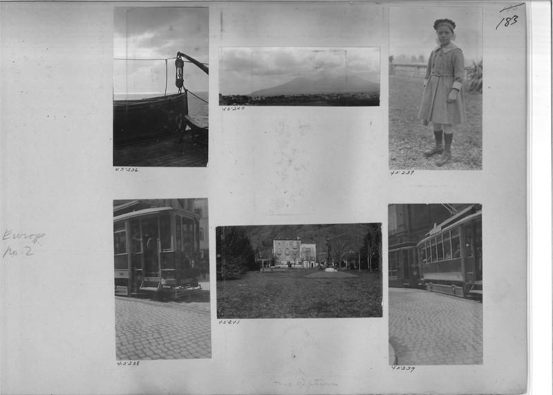 Mission Photograph Album - Europe #02 Page 0183
