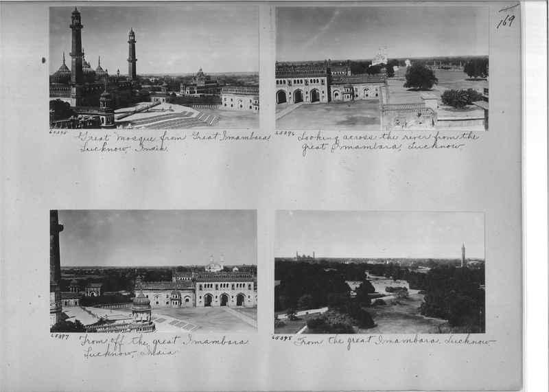Mission Photograph Album - India #08 Page 0169