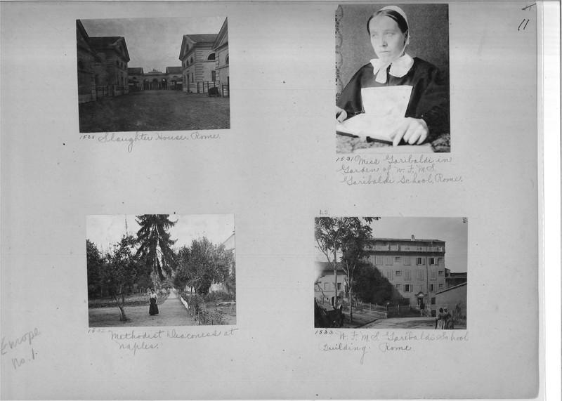 Mission Photograph Album - Europe #01 Page 0011