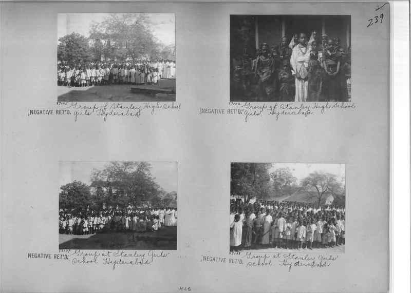 Mission Photograph Album - India #09 Page 0239