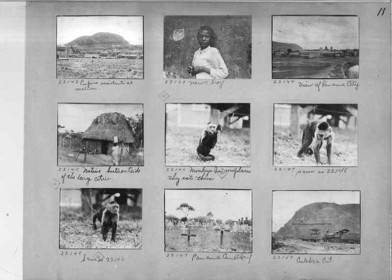 Mission Photograph Album - Panama #02 page 0011