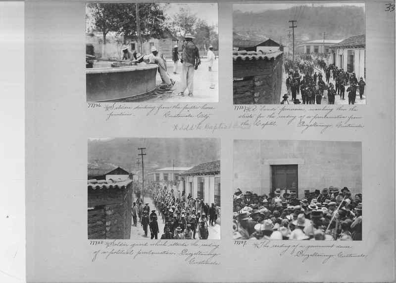 Mission Photograph Album - Panama #04 page 0033