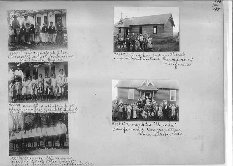 Mission Photograph Album - Indians #2 page_0185