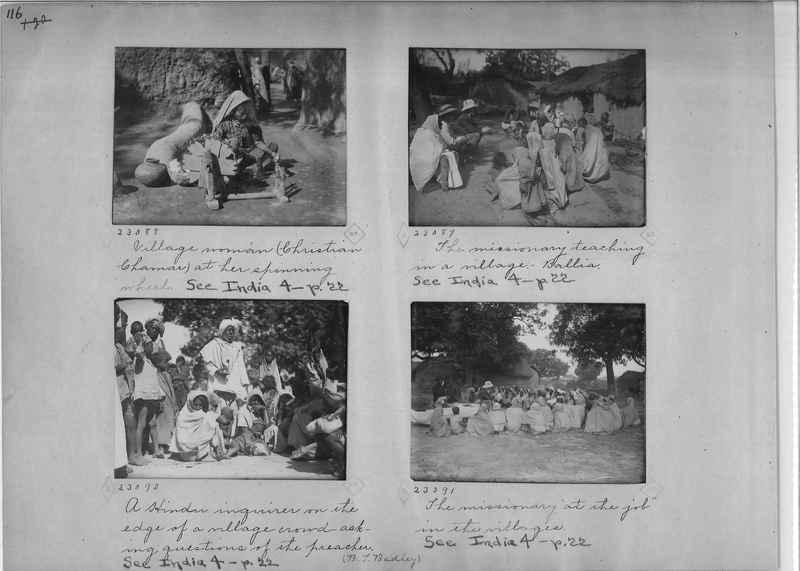 Mission Photograph Album - India - O.P. #01 Page 0116