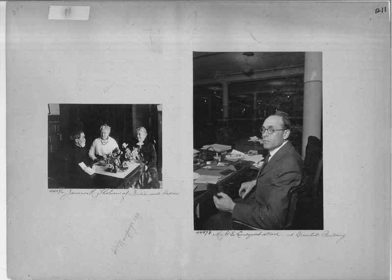 Mission Photograph Album - Portraits #2 page 0211