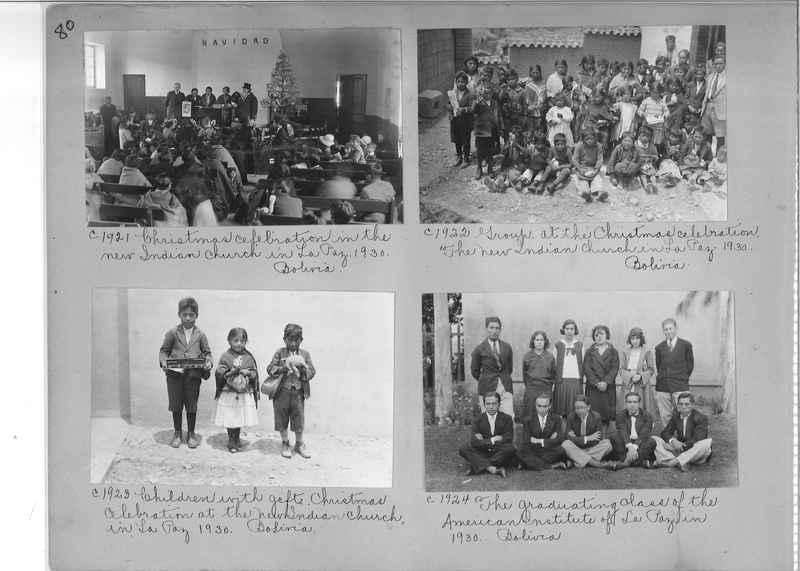 Misson Photograph Album - South America #8 page 0080