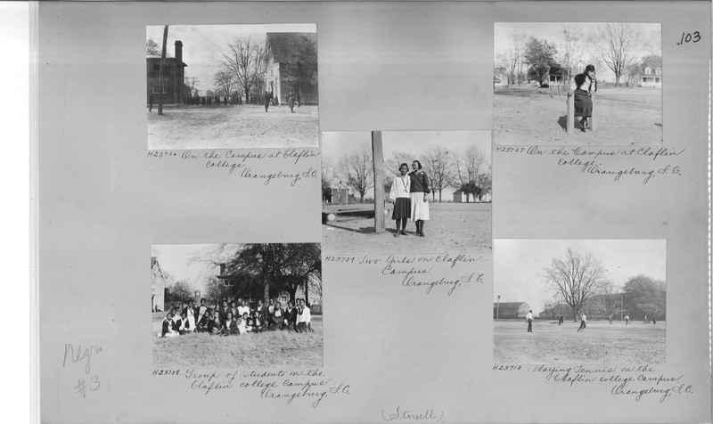 Mission Photograph Album - Negro #3 page 0103