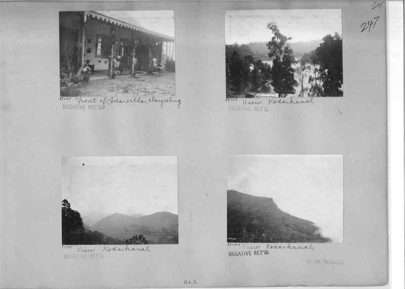Mission Photograph Album - India #09 Page 0247