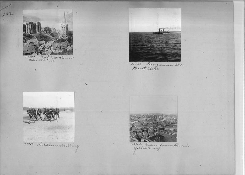 Mission Photograph Album - Europe #02 Page 0102