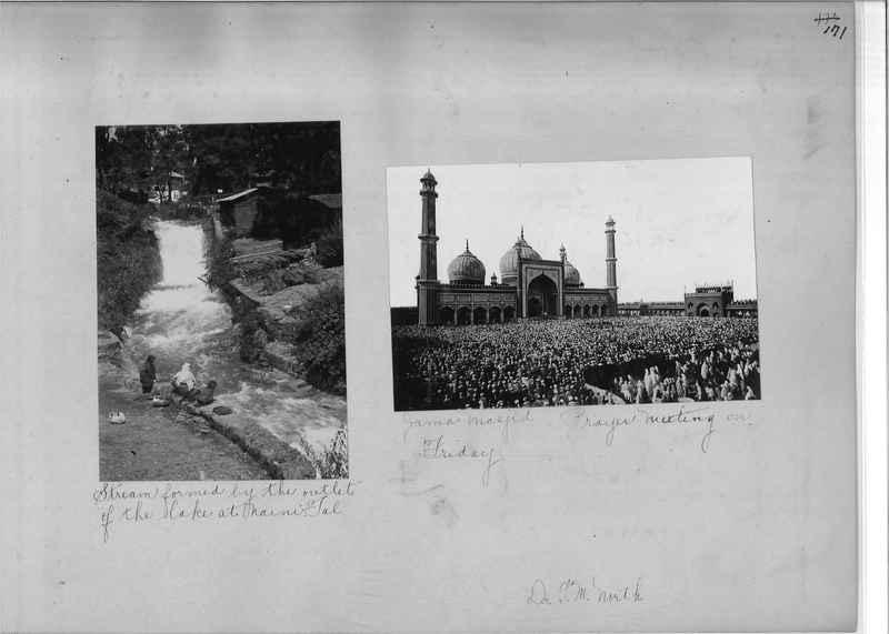 Mission Photograph Album - India - O.P. #01 Page 0171
