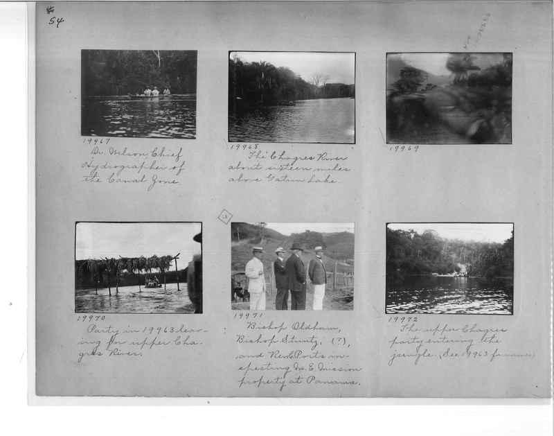 Mission Photograph Album - Panama #1 page  0054