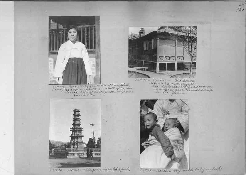 Mission Photograph Album - Korea #5 page 0123