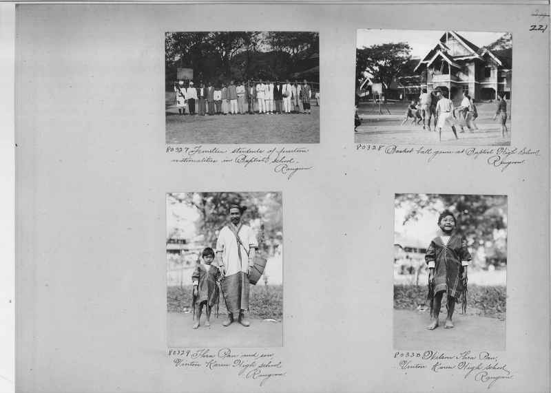 Mission Photograph Album - Burma #1 page 0221