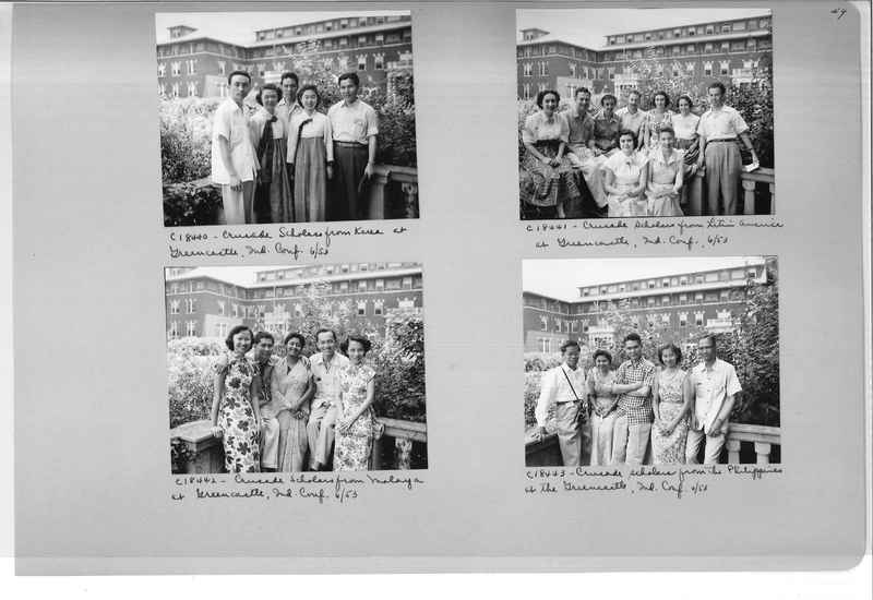 Mission Photograph Album - Portraits #08 Page 0049