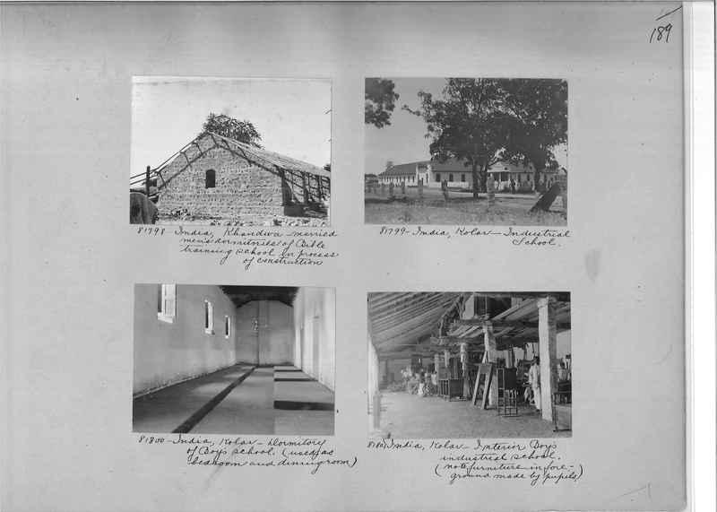 Mission Photograph Album - India #09 Page 0189