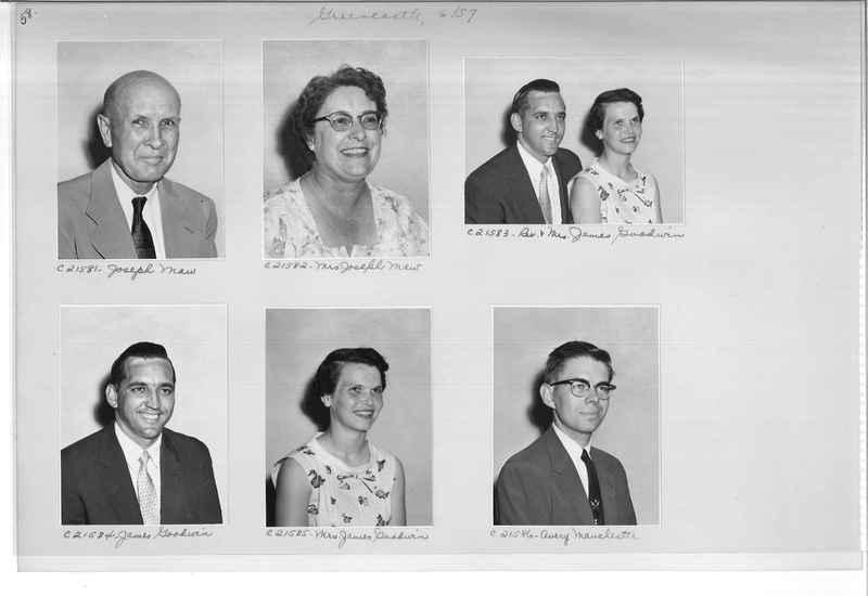 Mission Photograph Album - Portraits #10 Page 0058