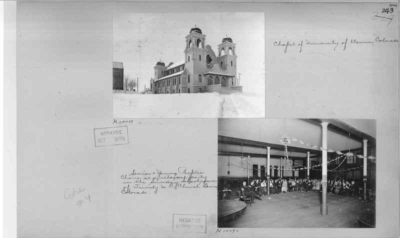 Mission Photograph Album - Cities #4 page 0243