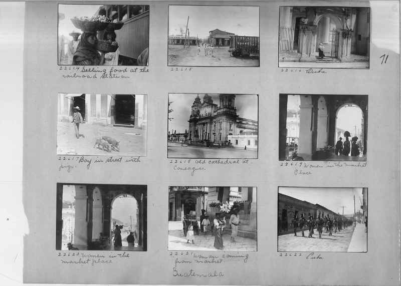 Mission Photograph Album - Panama #02 page 0071