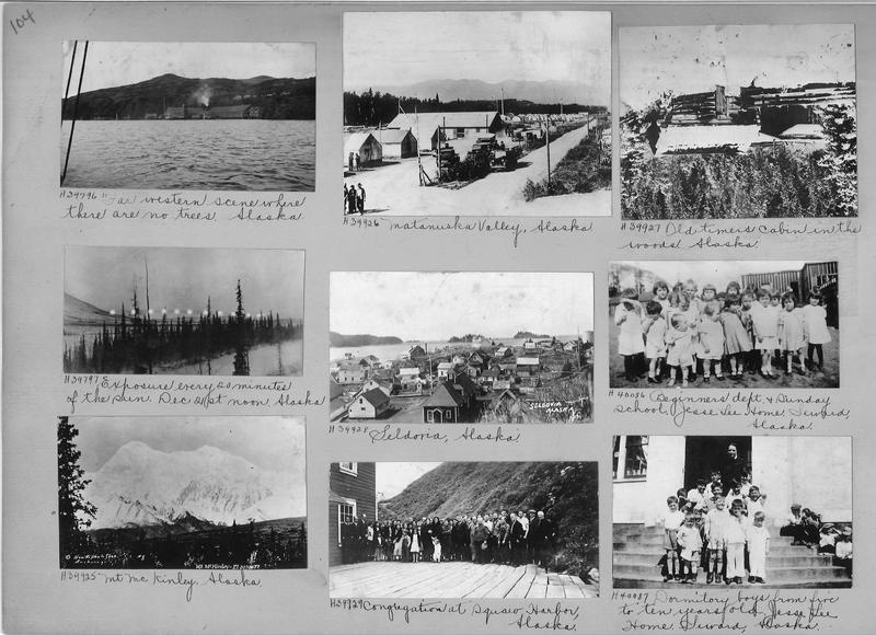 Mission Photograph Album - Alaska #1 page 0104